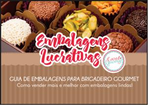 Embalagens lucrativas para brigadeiro gourmet